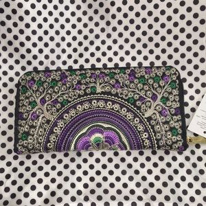 Handmade Embroidered Wallet From Thailand